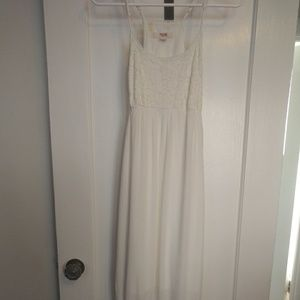 White lace Mossimo dress